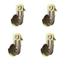4 Pz REGGITUBO Laterale Per Tubo Da 20 Armadio In Metallo Porta Asta 20 mm