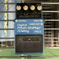 [For Parts] BOSS PS-2 Compact Effector Guitar Pedal Blue