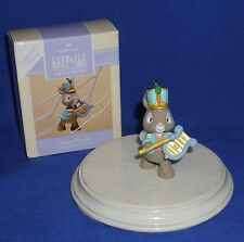 Hallmark Spring Series Ornament Easter Parade #2 1993 Rabbit With Chimes Used