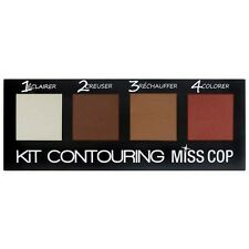 Kit contouring miss cop makeup complexion powder shadow and light modeler