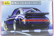 HELLER 1:24 Porsche 934 RSR Turbo, Automodell, Bausatz, 69 Teile