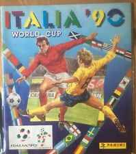 Panini Italia 1990 Coupe du monde 90 FOOTBALL ALBUM-vide-UK Version-Rare-très bon état