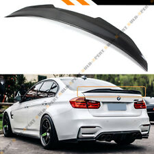 For 13-18 BMW F30 330i 335i F80 M3 Carbon Fiber HighKick PSM Style Trunk Spoiler