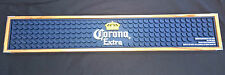 CORONA EXTRA 2015 RUBBER BAR RUNNER WOOD SURROUND DRIP MAT BRAND NEW HEAVY DUTY