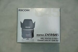 Pentax 55mm f/2.8 AL (IF) SMC FA 645 Lens