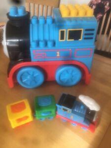 Thomas The Tank Engine Mega Blocks Storage Box