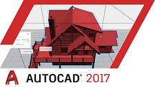 1 Key | Autodesk | AutoCad 2017 | 3 Years License | Win | Multi language