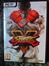 Street Fighter V 5 PC Nuevo lucha acción Textos castellano Playable in english.