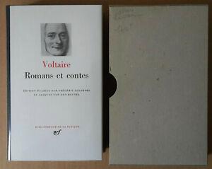 (LA PLÉIADE)  --  VOLTAIRE. ROMANS ET CONTES  -- 1979