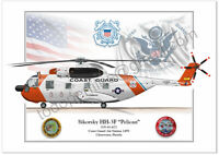 "Posters Profiles - Sikorsky HH-3F ""Pelican"" -  Helicopter's"