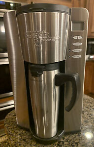 Starbucks Barista Aroma Solo Coffee Maker BA1S with Travel Tumbler and Filter