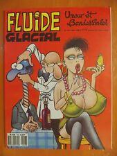 FLUIDE GLACIAL N° 143 du 05/1988. Umour et Bandessinées éditions Audie