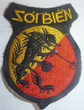 MAJOR BA BINHS SEAWOLVES - Patch - SOUTH VN 7th MARINES - Vietnam War - 5038