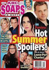 ABC Soaps In Depth Magazine - June 20, 2016 - Kelly Monaco & Billy Miller