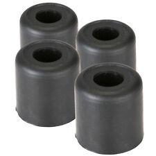 "Four Pack Penn-Elcom F1690 Rubber Cabinet Foot 1"" Dia. x 1"" H Heavy-duty Black"