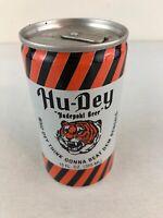 Hudepohl Hu-Dey Aluminum Bottom Opened Cincinnati Bengals Beer Can