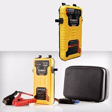 Waterproof 12V 15000mAh 600A Car Vehicle Jump Starter Emergency Battery Charger
