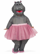 Hippo Inflatable Costume for Adults