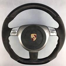 Porsche 911 997 987 Boxster Cayman Super Sport Volant volante Alcantara Carbon
