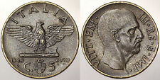 5 CENTESIMI 1940 REGNO D'ITALIA VITTORIO EMANUELE III #5424A