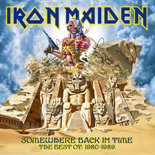 IRON MAIDEN - SOMEWHERE BACK IN TIME THE BEST OF 1980-1989 CD - FACTORY SEALED