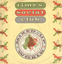 TIMEX SOCIAL CLUB - Technique mixte Up World - 1986 - Cooltempo - COOLX 138 - Uk