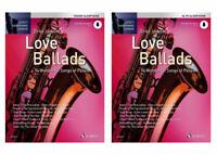 """Love Ballads - für Tenor- oder Alt-Saxophon + 1 Bleistift """"Musikmotiv"""""""