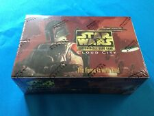 Star Wars CCG Cloud City Limited Booster Box by Decipher - Factory sealed