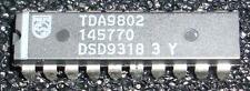 1pcs TDA9802 Multistandard VIF-PLL demodulator and FM-PLL detector