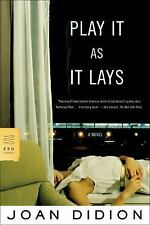 Play It As It Lays: A Novel: By Joan Didion