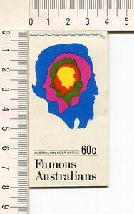 41145) AUSTRALIA 1970 MNH** QEII 6c (x10) n.479/80 Booklet SG B46 -Imperf L & R