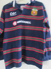 Unión de Rugby Leicester Tigres 1999-2001 Away Camisa Grande Manga Larga/40254