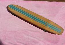 Original Rare 60's Nash Skateboard Wooden Sidewalk Surfboard Metal skate Wheels