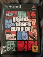 Grand Theft Auto III - Playstation 2 PS2 Game - No map or manual