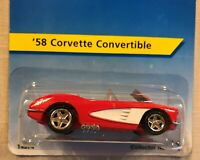 Hot Wheels '58 Corvette Convertible #14 Red & White 1995 Mfg 7,000 Collector 14