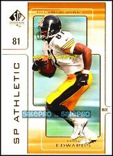 UD SP AUTHENTIC 2000 TROY EDWARDS NFL PITTSBURGH STEELERS SP ATHLETIC #A10