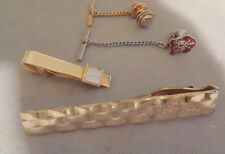 COLLECTION OF TWO TIE BARS, AND 2 TIE PINS