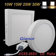 Surface Mounted LED Panel Light Ceiling Down Lamp Kitchen 110V 220V Cool White
