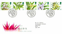 16 MARCH 1993 ORCHIDS ROYAL MAIL FIRST DAY COVER BUREAU SHS