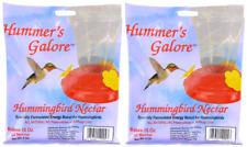 2 Packs Hummingbird Nectar Food Package Garden Wild Life Bird Hummers Galore X2