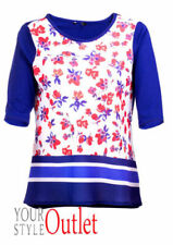 M&Co Cotton Floral Tops & Shirts for Women