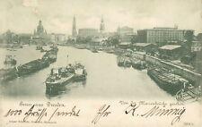 Ansichtskarte Dresden 1899 Von der Marienbrücke gesehen (Nr.770)