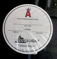 "Coors light Beer Coasters  (Lot of ""50""Proud Sponsor Of Angels Baseball ⚾️"