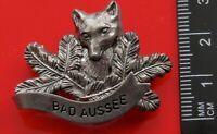 Bad Aussee Austria Austrian State of Styria Vintage Metal Pin Badge