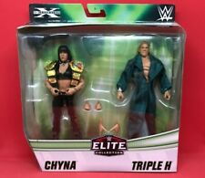 WWE ELITE TRIPLE H AND CHYNA DX 2 PACK EXCLUSIVE ACTION FIGURES NEW MOC [GLG18]