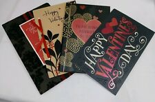 Beautiful Valentine's Day Card's variety pack of 4 free shipping with envelope