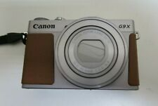Canon PowerShot G9 X Mark I 20.1MP Digital Camera - Silver