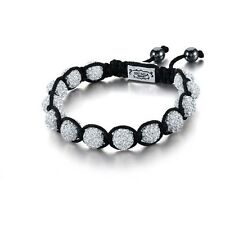 Bracelet Shamballa Crystal Disco New Ball Beads Gift Ladies Friendship Women's