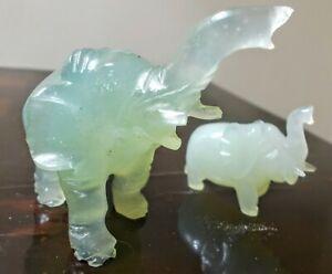 Giada coppia di elefanti