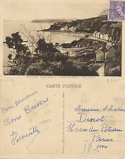 Tarjeta Postal. Bretagne-Saint-Brieuc. Plage de Cesson- Les Valais.